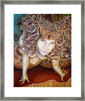 Stone Cold Beauty Framed Print by Al  Molina