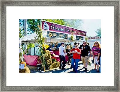 Stone Pony Catering Framed Print by Lanjee Chee