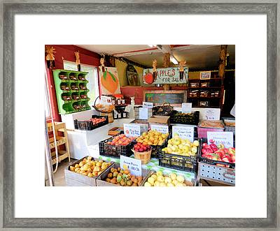 Stone Ridge Orchard 5 Framed Print by Lanjee Chee