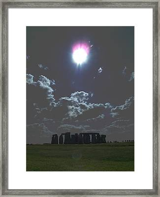 Stonehenge Framed Print by Aaron Carberry