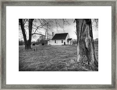 Stonewall Jackson House Framed Print by Harry H Hicklin