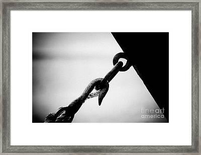 Stop Framed Print by Raimond Klavins