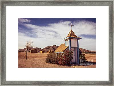 Stop Rest Worship Framed Print by Robert Bales