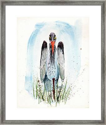 Jenifer's Friend - George #2 Framed Print by Sam Sidders