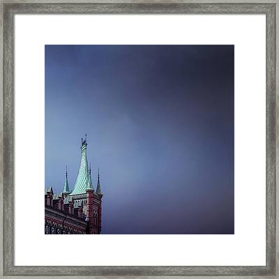 Storm Approaching Framed Print by Mikael Jenei