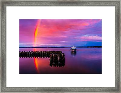 Storm Chaser Framed Print by TL  Mair