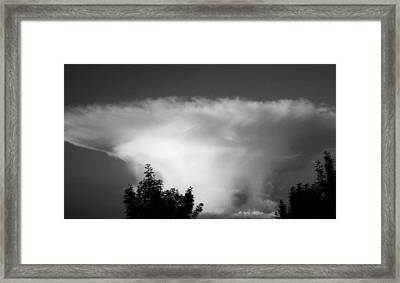 Storm Cloud Framed Print by Juergen Weiss
