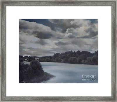 Storm Clouds Framed Print by Andrey Soldatenko