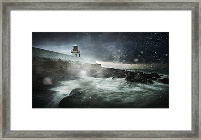 Storm Coming Framed Print by Marcin Krakowski