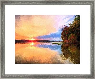 Storm Front Framed Print by JC Findley