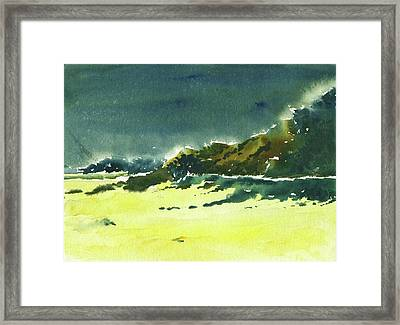 Storm Is Brewing Framed Print by Anil Nene