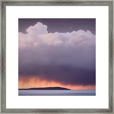 Storm Over Gruinard Bay Framed Print by Dave Bowman