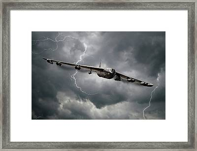 Storm Warning Framed Print by Peter Chilelli