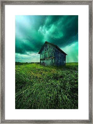 Stormlight Framed Print by Phil Koch