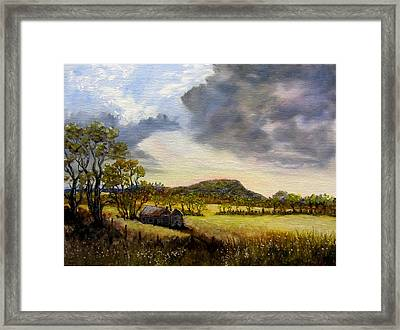 Storms O'er The Old Home Place Framed Print by Gavin Kutil
