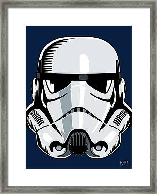 Stormtrooper Framed Print by IKONOGRAPHI Art and Design