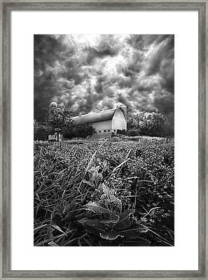 Stormward Bound Framed Print by Phil Koch