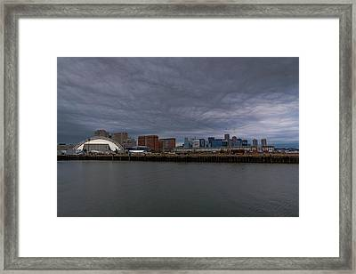 Stormy Boston Framed Print by Brian MacLean