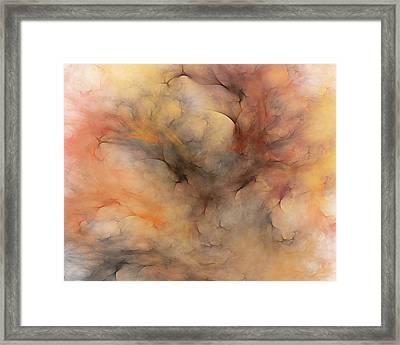 Stormy Framed Print by David Lane