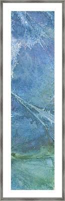 Stormy Sea Framed Print by Darren Leighton