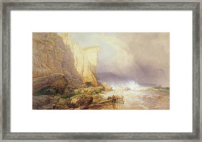 Stormy Weather Framed Print by John Mogford