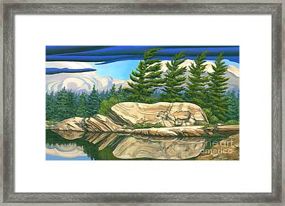 Stormy Weather Framed Print by Michael Swanson