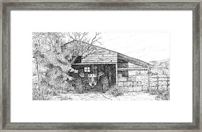Stowed Away Framed Print by David King