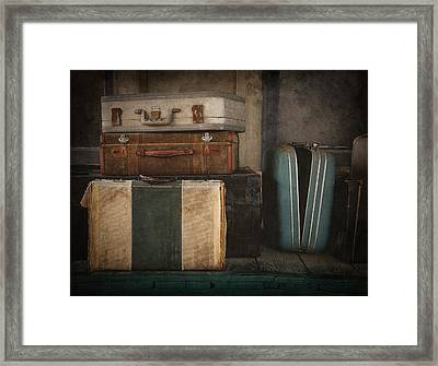 Stranded Framed Print by Amy Weiss