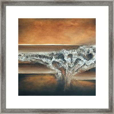 Strata Framed Print by Mike Irwin