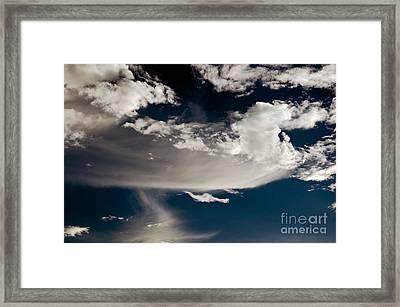 Streakin' Cloud Framed Print by Clayton Bruster