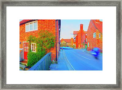 Streaking Beaulieu II Framed Print by Jan W Faul