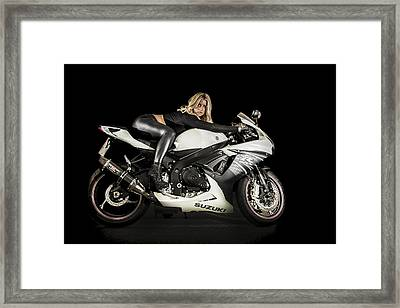 Streamlined Framed Print by Paul Neville