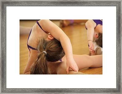 Stretch Framed Print by Virginia Halford