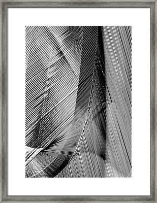 String Art Framed Print by Aileen Mozug