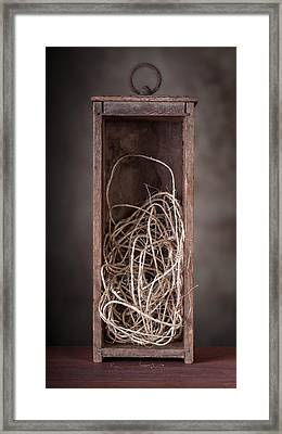 String Box Still Life Framed Print by Tom Mc Nemar