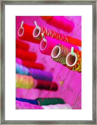 String Theory Framed Print by Skip Hunt