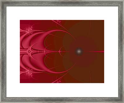 Stringray Framed Print by Wendy J St Christopher