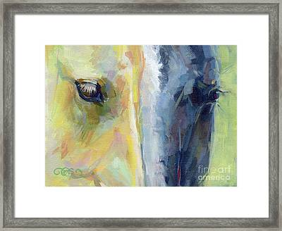 Stripes Framed Print by Kimberly Santini