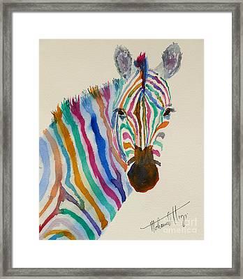 Stripes Framed Print by Mohamed Hirji