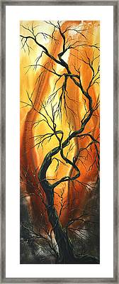 Striving To Be The Best By Madart Framed Print by Megan Duncanson