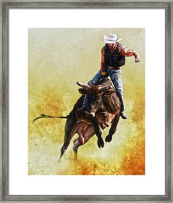 Strong Heart Framed Print by Ron  McGinnis
