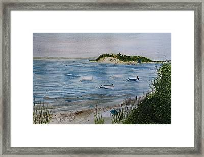 Strong Island Framed Print by Donna Walsh