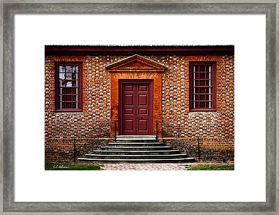 Structural Symetry Framed Print by Christopher Holmes