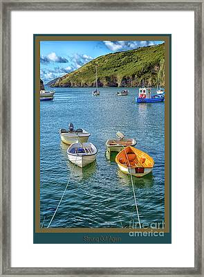 Strung Out Again Framed Print by Wendy Wilton