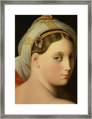 Study For An Odalisque Framed Print by Ingres