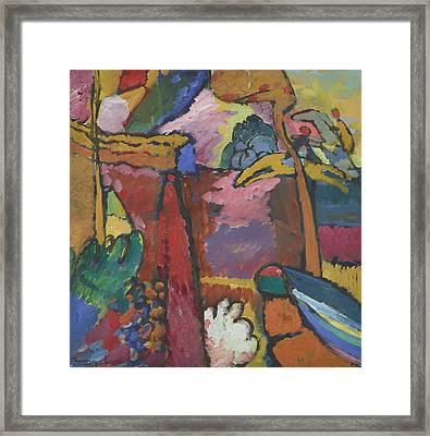 Study For Improvisation V Framed Print by Wassily Kandinsky
