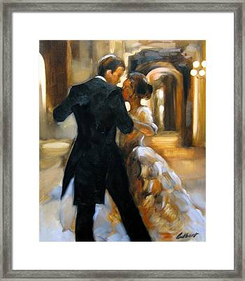 Study For Last Dance 2 Framed Print by Stuart Gilbert