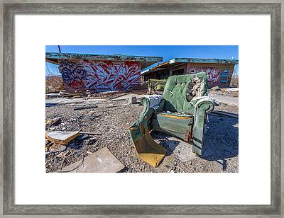 Stuffed Framed Print by Peter Tellone