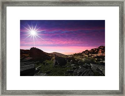 Stunning Landscape Framed Print by Contemporary Art