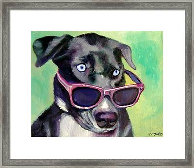 Styling  Framed Print by Lyn Cook